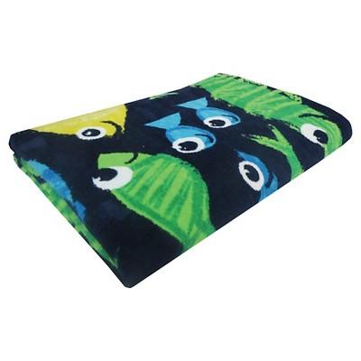 Evergreen Basics Fashion Fish Beach Towel - Blue