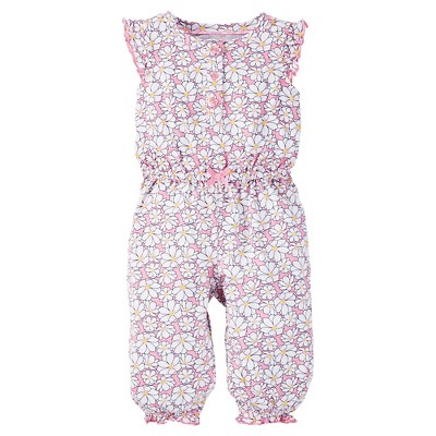 Just One You™Made by Carter's® Baby Girls' Floral Jumpsuit - Pink 6M