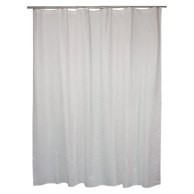 "Threshold™ Diamond Stripe Shower Curtain - Green (72""x72"")"