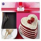 Wilton Easy Layers Heart Shaped Cake Pans - Pcs