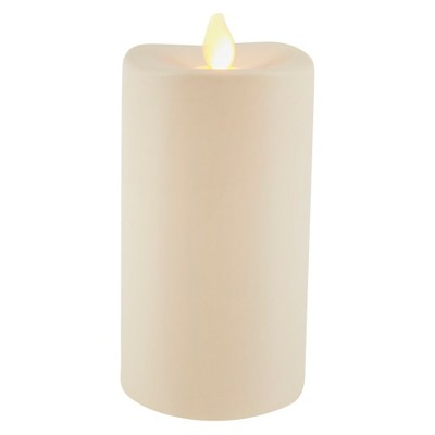 3X6 Resin Outdoor LED Motion Flame Candle - Threshold™