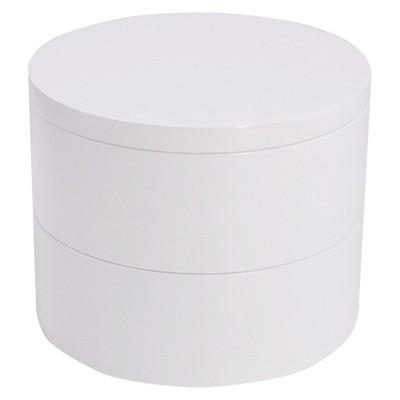 Threshold™ Magnetized Stackable Vanity Organizer - White