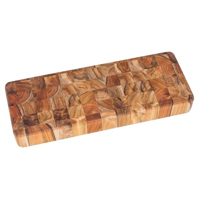 Teak Haus End Grain Cheese Board - 18""