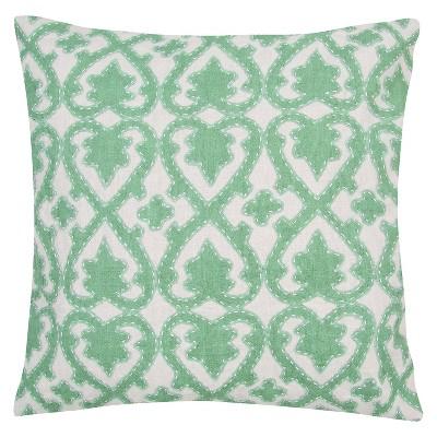 Ecom Decorative Pillow Jaipur Green