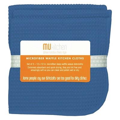 Waffle Microfiber Cloth - Set of 3