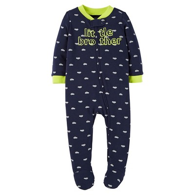Just One You™ Made by Carter's® Baby Boys' Little Brother Sleep N' Play - Blue 9M