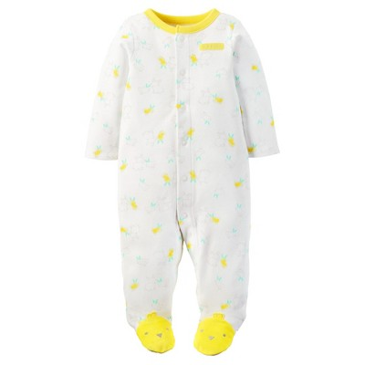 Just One You™ Made by Carter's® Baby Bunny Sleep N' Play - White NB