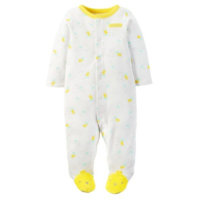 Just One You™ Made by Carter's® Baby Bunny Sleep N' Play - White 9M