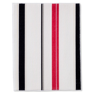 Room Essentials™ Stripe Drying Mat - Red
