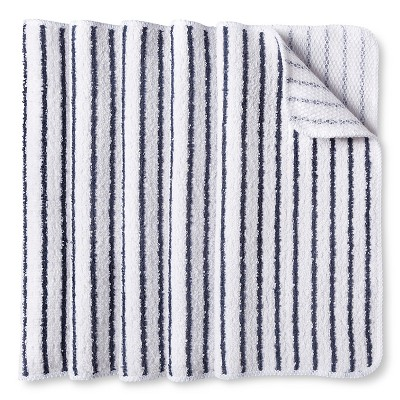 Room Essentials™ Stripe Dishcloth Scrubber - Blue (5 Pack)