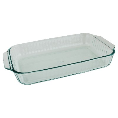 Open Baking Dish Pyrex Glass