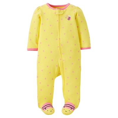 Just One You™ Made by Carter's® Baby Girls' Bee Sleep N' Play- Yellow 6M