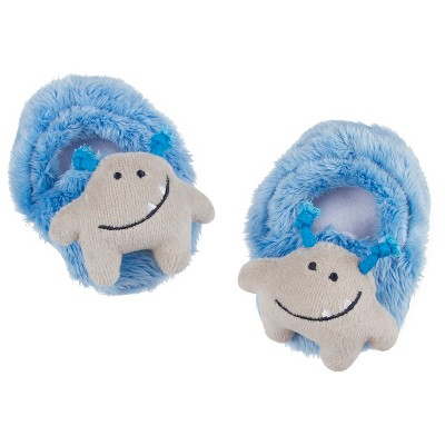 Gerber® Baby Boys' Monster Bootie Slipper - Blue 0-6 M