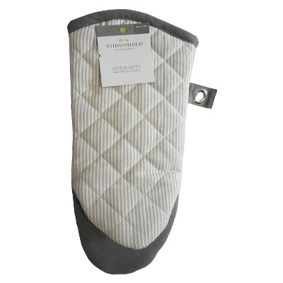 Threshold™ Stripe Oven Mitt - Gray