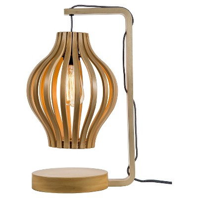 Threshold Bentwood Table Lamp - CA Compliant