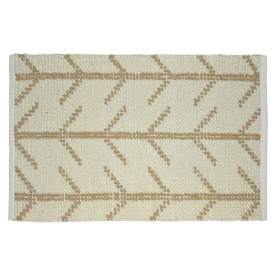 Threshold 2x3 Caramel Popcorn Rug