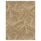 Tropical Leaves Neutral Outdoor Rug - Threshold™