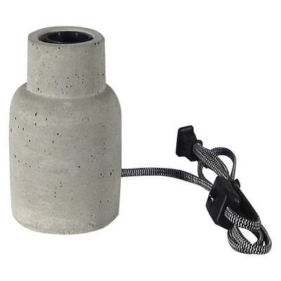 Threshold Concrete Edison Lamp