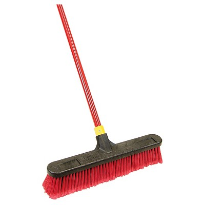 "Quickie Bulldozer 18"" Push Broom"