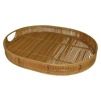 Decorative Tray Threshold Rattan Rattan