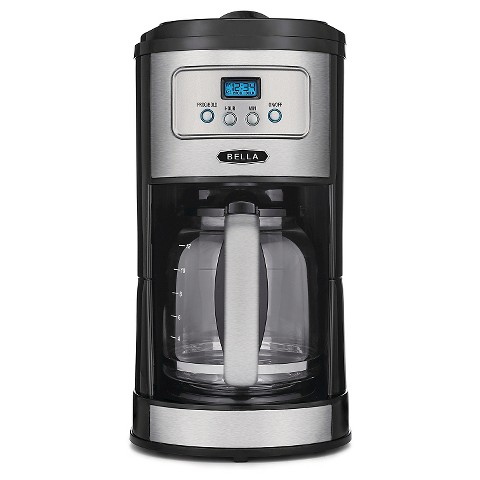 BELLA Classics 12 Cup Programmable Coffee Maker,... : Target