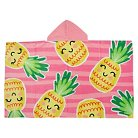 Evergreen Basics Hooded Pineapple Beach Towel - Pink