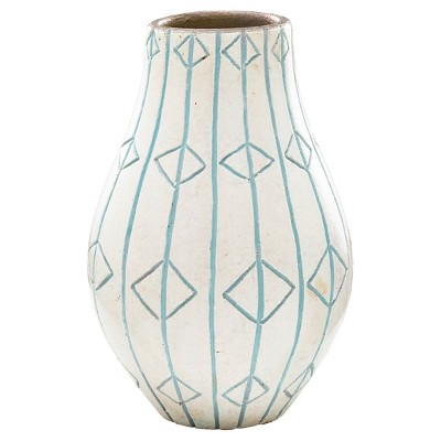 Threshold™ Medium White Ceramic Vase