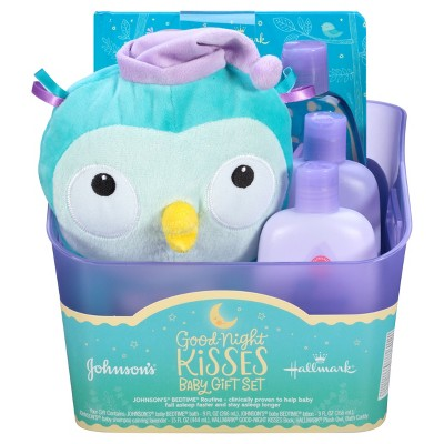 Johnson's® Good Night Kisses Baby Gift Set