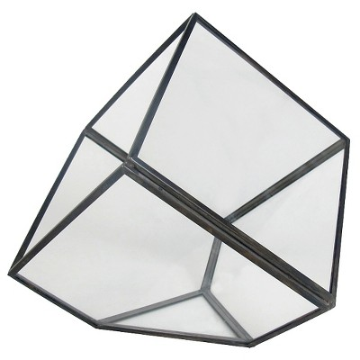 Threshold™ Faceted Glass Vessel Small