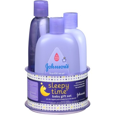 Johnson's® Sleepy Time Baby Gift Set