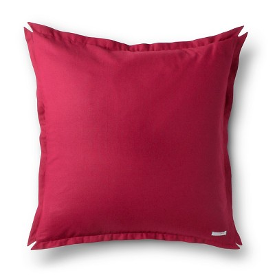 "Brooklyn & Bond Solid Floor Pillow - Red (30""x30"")"