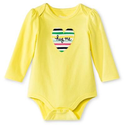 Circo™ Baby Girls' Bodysuit - Snap Dragon Yellow 3-6 M