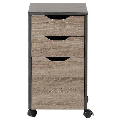 Ecom Vertical Filing Cabinet Natural Wood Wood Composite 3 Number Of Drawers Homestar