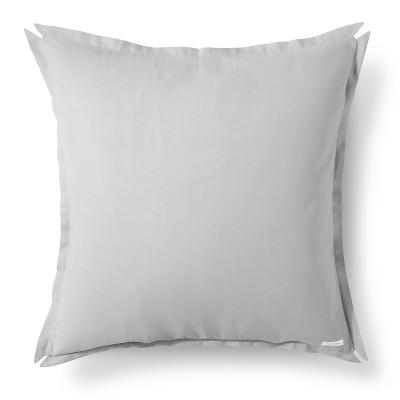 "Brooklyn & Bond Solid Floor Pillow - Dark Grey (30""x30"")"