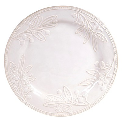 "Certified International Bianca Ivory Round Platter (15"")"