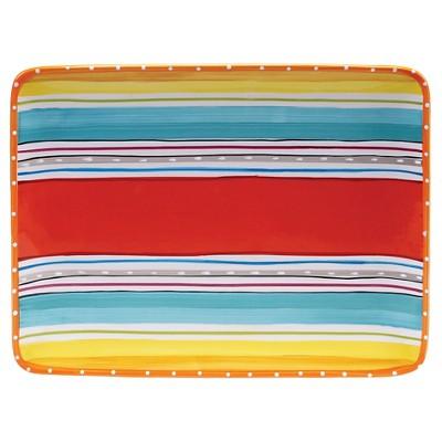 """Certified International Mariachi Rectangular Platter (15.75"""" x 12"""")"""
