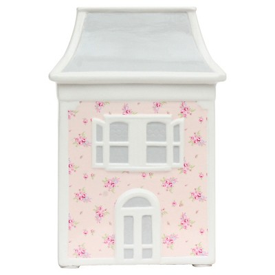 "Dollhouse Bank (7.5""x5.25""x3.5"") Pink - Simply Shabby Chic™"