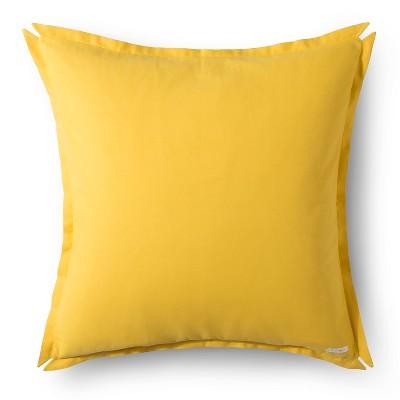 "Brooklyn & Bond Solid Floor Pillow - Yellow (30""x30"")"