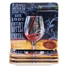 "Certified International House Wine Salad Plates Set of 4 (8.25"")"