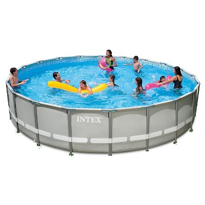 "Intex 20' X 52"" Ultra Frame Pool Set"
