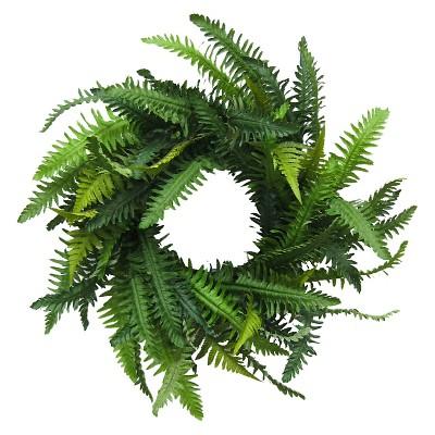 """Threshold™ Fern Wreath (20"""")"""