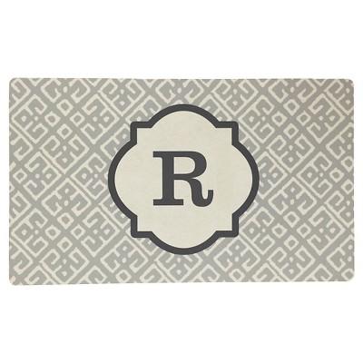Threshold™ Monogram Comfort Kitchen Mat - Gray (R)
