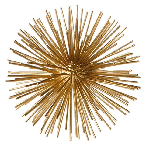 Small Spike D Cor Sphere Gold Torre Tagus Target
