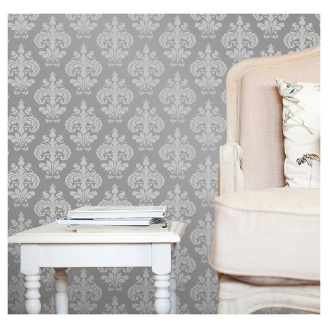 Devine Color Chantilly Peel Stick Wallpaper Target