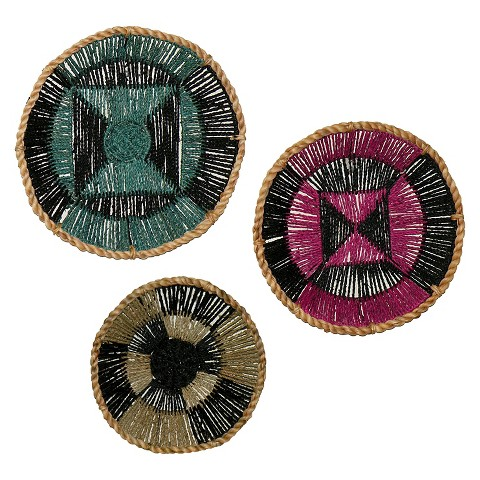 Threshold Set Of 3 Wall D Cor Seagrass Target