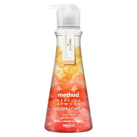 method rebecca atwood sweet citrus liquid dish soap