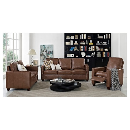 description page square arm bonded leather sofa threshold