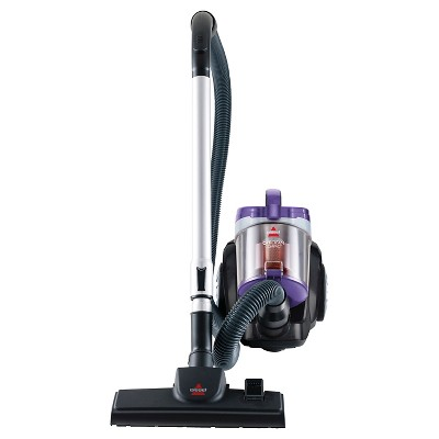 BISSELL® OptiClean® Compact Canister Vacuum- Silver/Purple