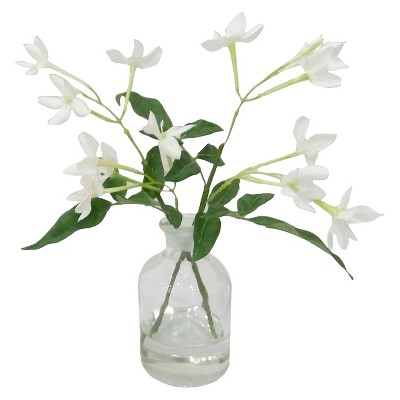 "Threshold™ Blossom in Glass - White (8.5"")"