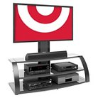 """Malibu TV Stand with Mount Black 65"""" - CorLiving"""